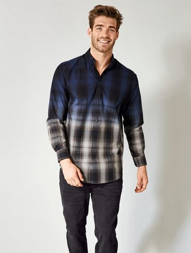 Men Plus By Happy Size Shirt With Gradient