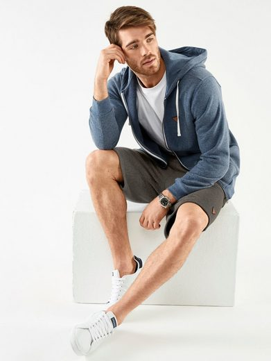 Men Plus by Happy Size Sweatjacke mit Kapuze