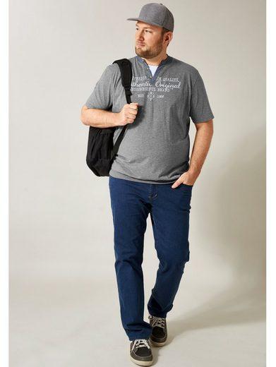 Men Plus by Happy Size Spezial-Bauchschnitt Fitness Jeans