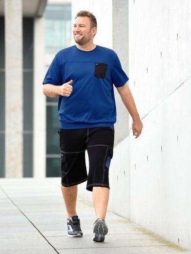 Men Plus by Happy Size Spezial-Bauchschnitt Joggingbermuda