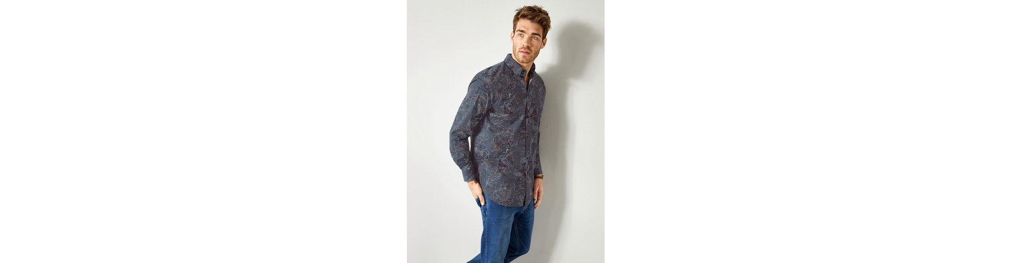 Men Plus by Happy Size Hemd mit Allover-Print Steckdose Mit Kreditkarte Billig Verkauf Vorbestellung Online Billigsten Fabrikverkauf Billig Verkauf Rabatt 8eywnx