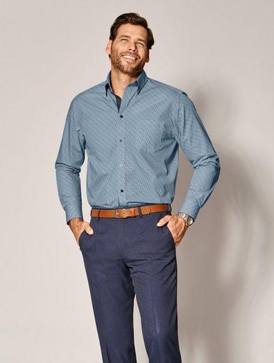 Men Plus By Happy Size Hemd Mit Print