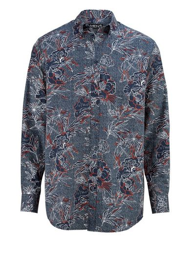 Men Plus by Happy Size Hemd mit Allover-Print