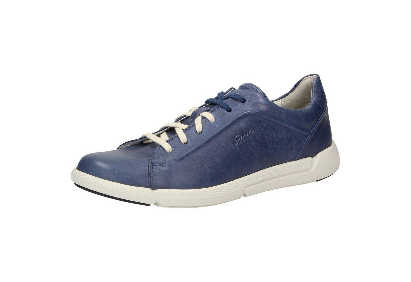 Herren SIOUX Runol Sneaker blau   04054765394689