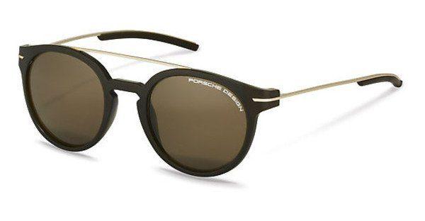 PORSCHE Design Porsche Design Herren Sonnenbrille » P8631«, braun, C - braun/grau