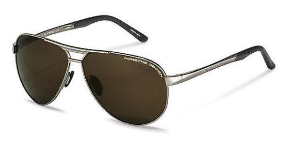 PORSCHE Design Porsche Design Herren Sonnenbrille » P8642«, grau, C - grau/grün