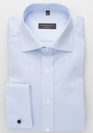 Eterna Long Sleeve Shirt Long Sleeve Shirt Comfort Fit