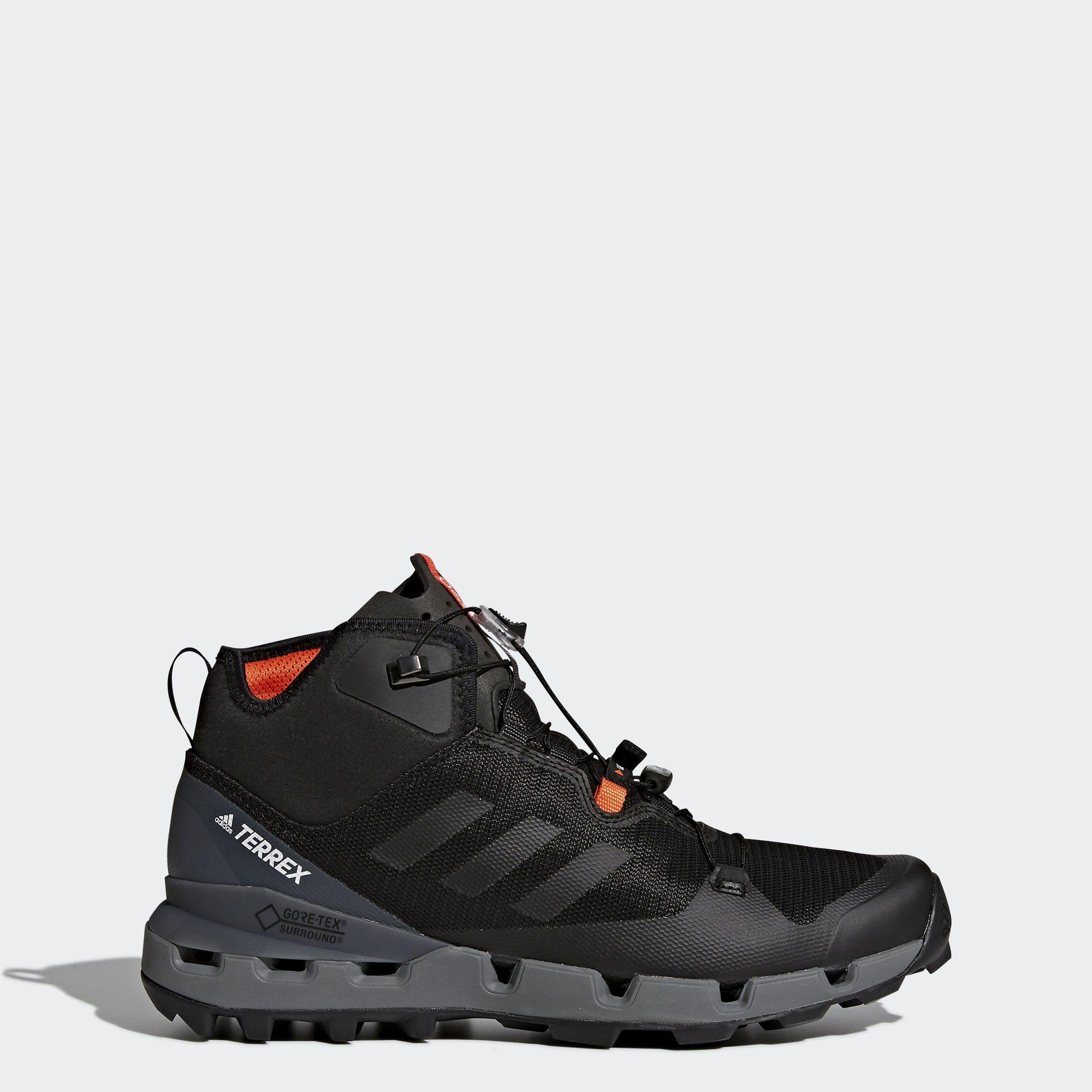 »TERREX Fast Mid GTX-Surround Schuh« Outdoorschuh, schwarz, black adidas Performance