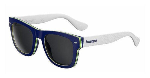 Havaianas Herren Sonnenbrille » BRASIL/L«, blau, 1RA/Y1 - blau/grau