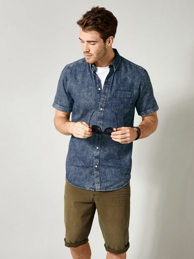 Men Plus by Happy Size Hemd acid wash