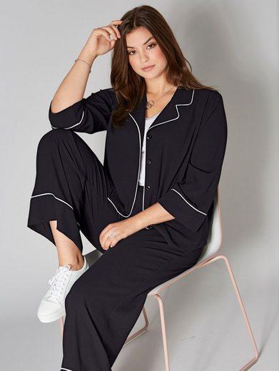 Angel of Style by Happy Size Jacke im Kimono-Stil
