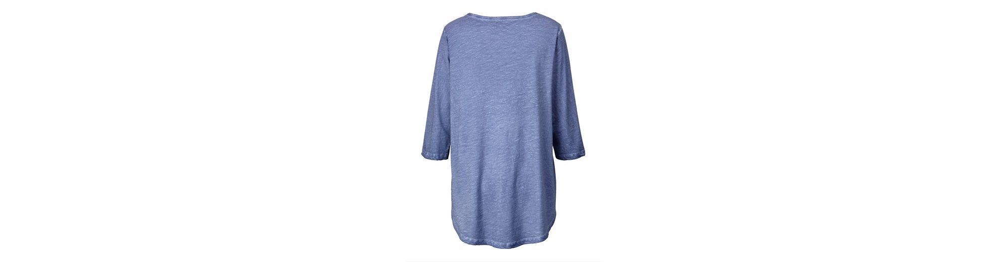 Authentisch Günstiger Preis Günstig Kaufen Best Pick Angel of Style by Happy Size Vokuhila-Shirt oil wash Preiswerte Qualität Zum Verkauf Offizieller Seite 33WnQ