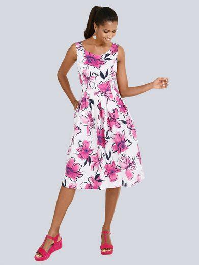 Alba Moda Druckkleid im floralen Dessin