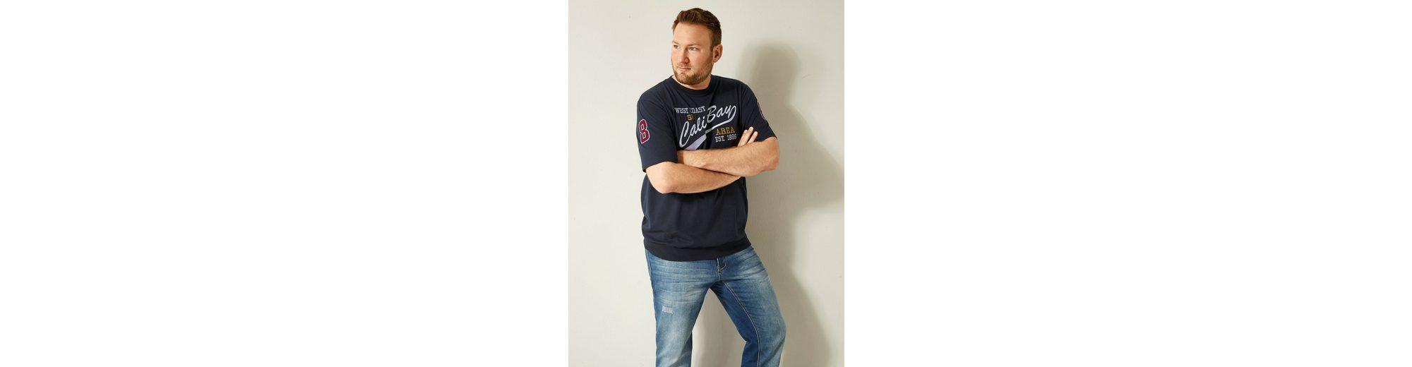 Men Plus by Happy Size Spezial-Bauchschnitt T-Shirt Top-Qualität Günstiger Preis sAJoA7Z