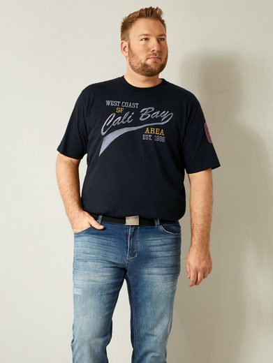 Men Plus by Happy Size Spezial-Bauchschnitt T-Shirt