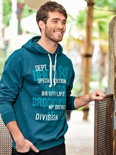 Men Plus by Happy Size Sweatshirt mit Kapuze