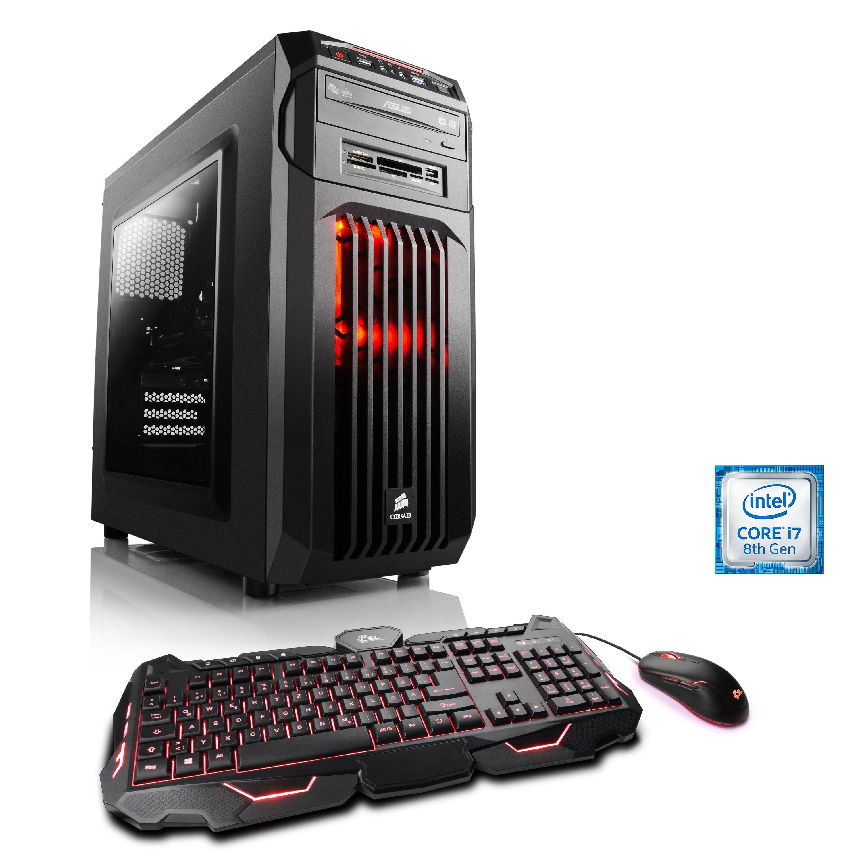 CSL Multimedia PC | Core i7-8700 | Intel UHD 630 | 8 GB RAM | SSD »Speed T9863 Windows 10 Home«