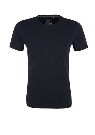 s.Oliver RED LABEL T-Shirt mit Crew Neck