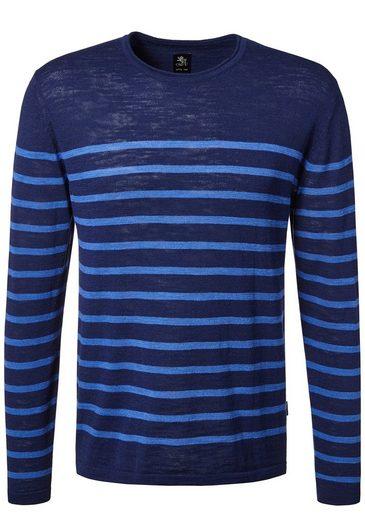 Otto Kern Feinstrick Pullover mit Streifen