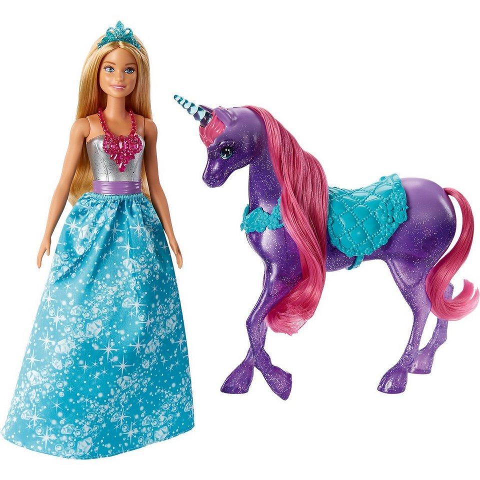 Mattel® Barbie Dreamtopia Barbie Puppe & Einhorn