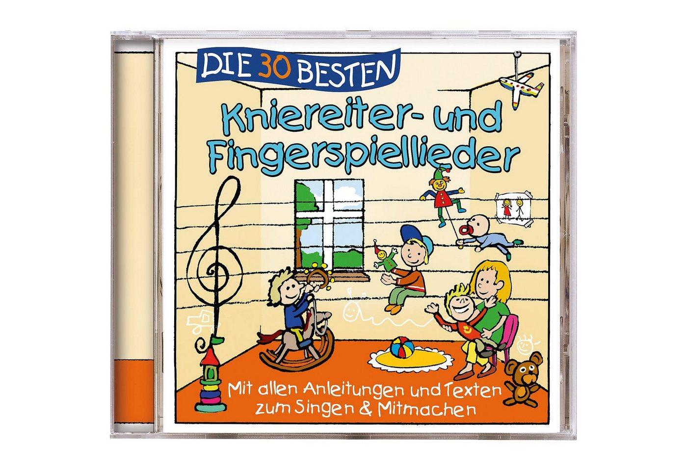 Universal CD Die 30 Besten Kniereiter- und Fingerspiellieder