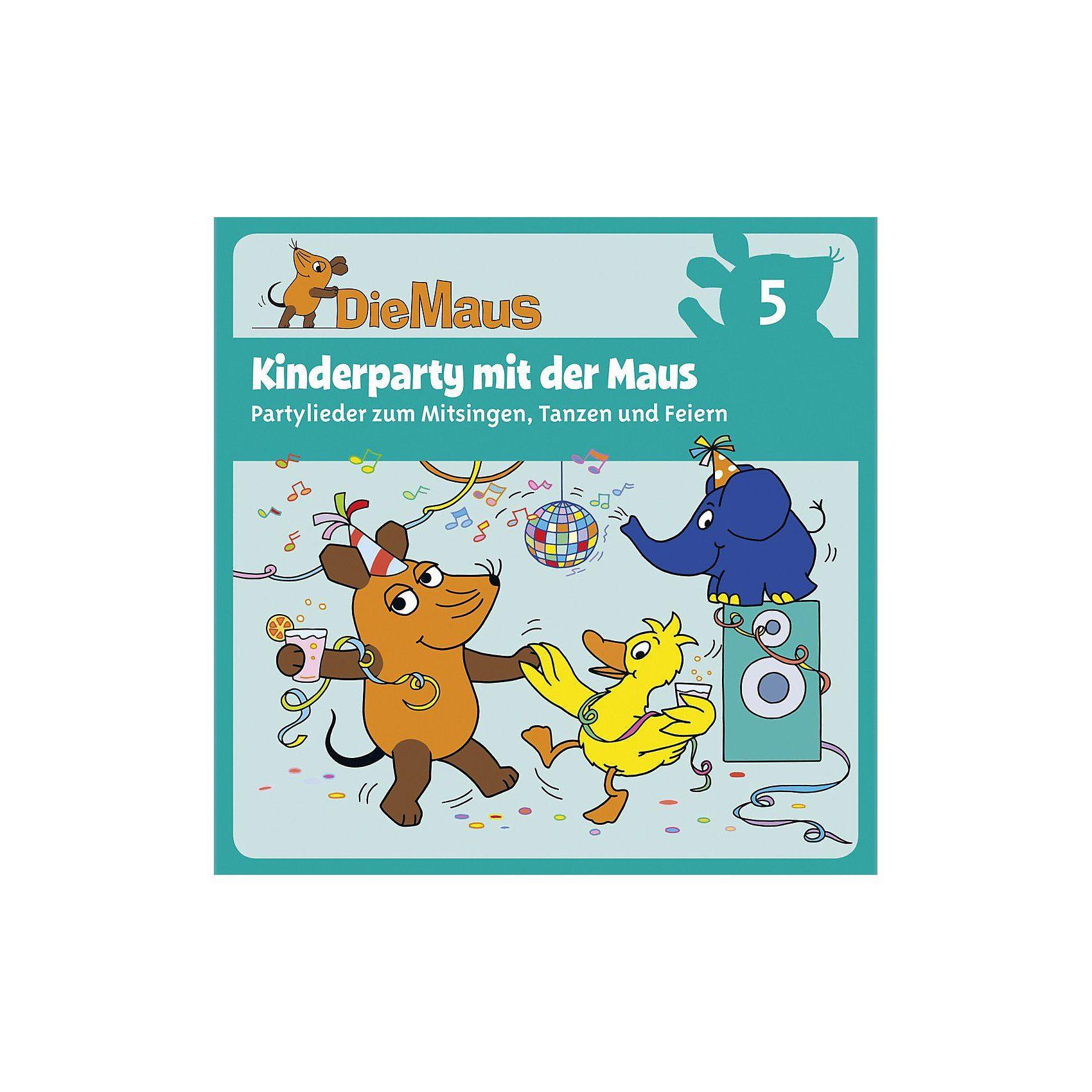 Universum CD Die Sendung mit der Maus 05 - Kinderparty mit der Maus