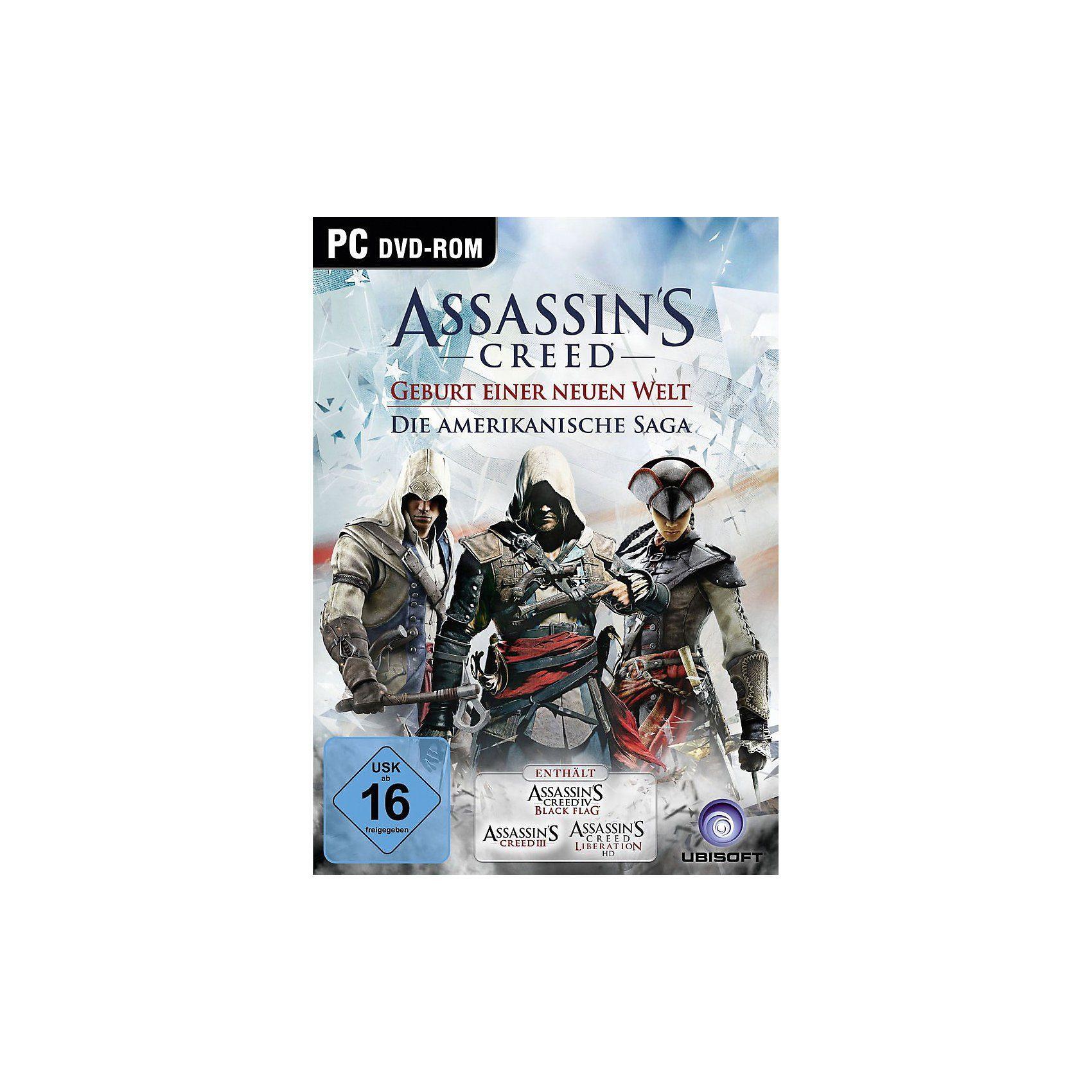PC Assassins Creed - Die Amerikanische Saga