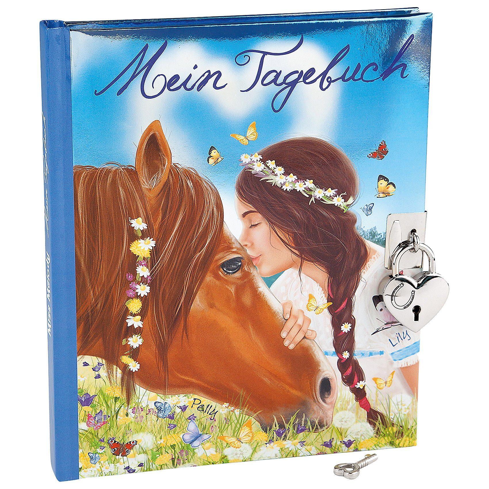 Depesche Miss Melody Tagebuch Pferd & Mädchen, inkl. Sticker