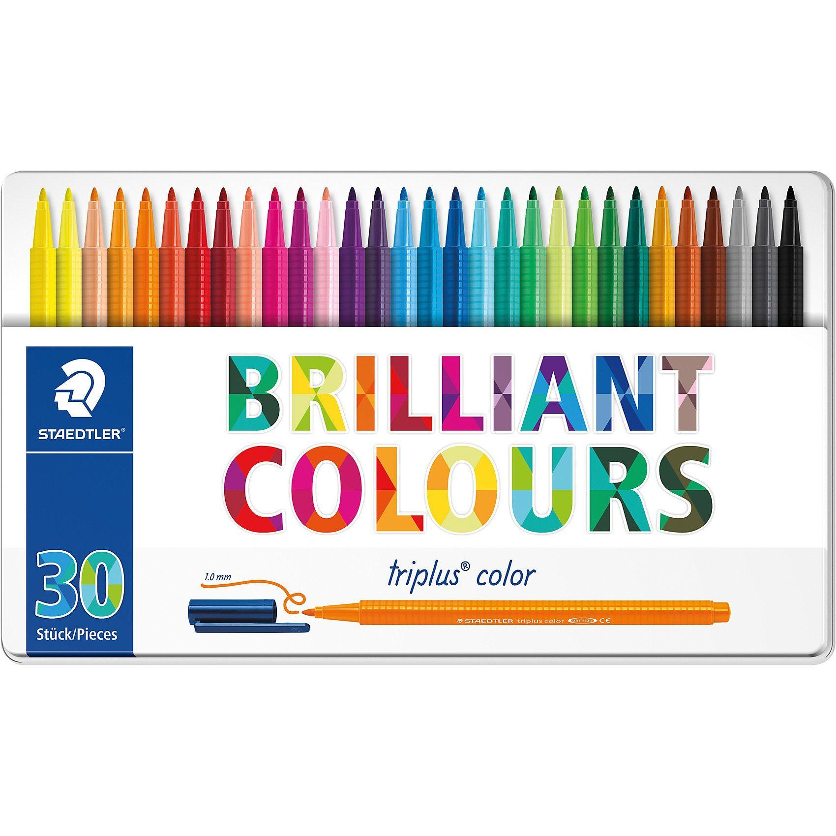 STAEDTLER Filzstifte triplus color, 30 Farben