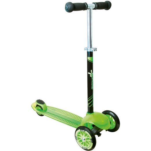 Muuwmi Kidsscooter Up grün