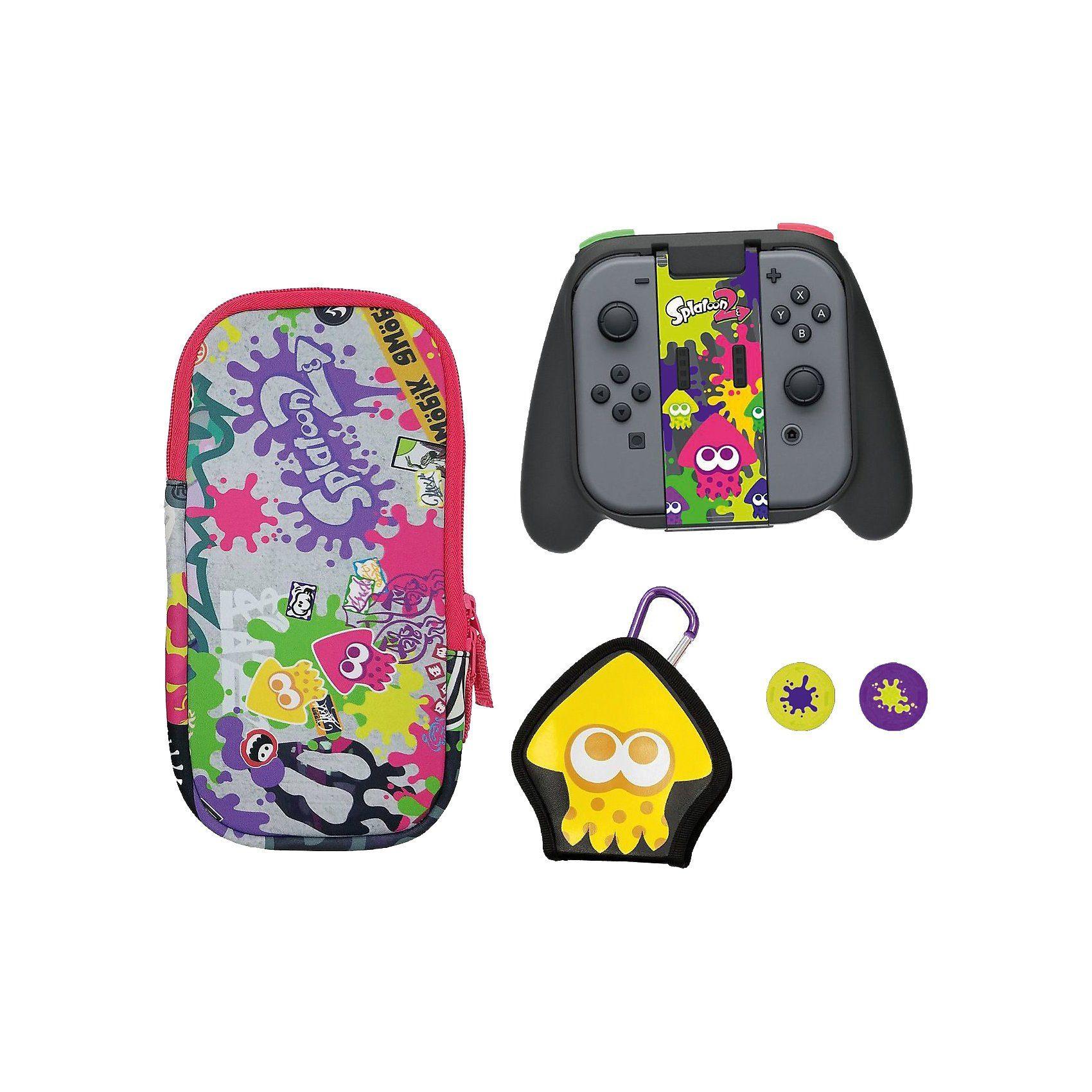 Nintendo Switch Splatoon 2 Splat Pack - Deluxe Zubehör Set