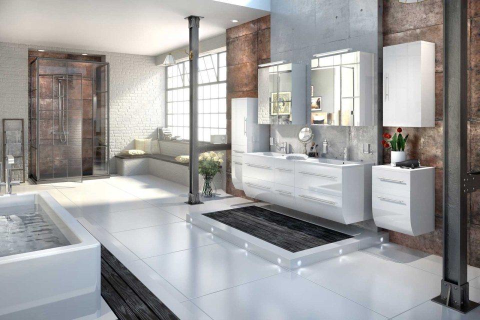 salesfever badm bel set breite 150 cm 6tlg zalona online kaufen otto. Black Bedroom Furniture Sets. Home Design Ideas