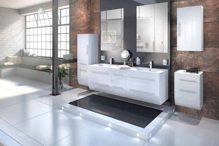 salesfever badm bel set breite 150 cm 6tlg zalona light online kaufen otto. Black Bedroom Furniture Sets. Home Design Ideas