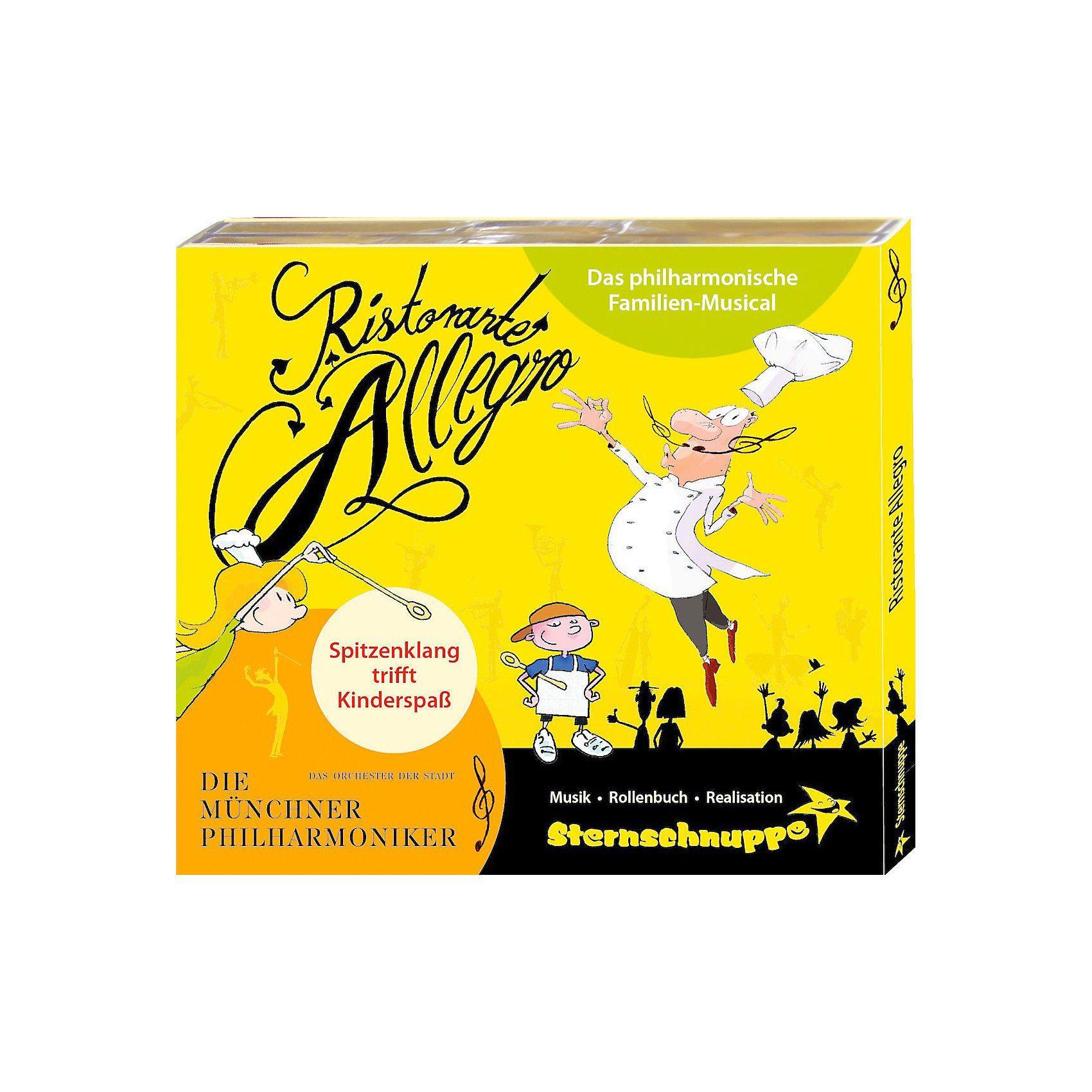 CD Sternschnuppe - Ristorante Allegro: Das philharmonische F
