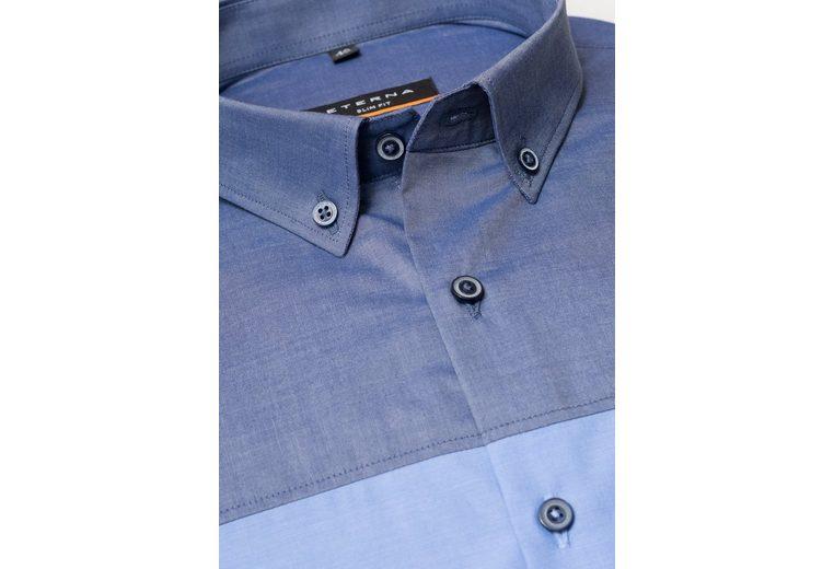 ETERNA Langarm Hemd Langarm Hemd SLIM FIT Top Qualität Nagelneu Unisex Zum Verkauf Verkauf Des Niedrigen Preises Freies Verschiffen Billig Qualität 3GDRgU4