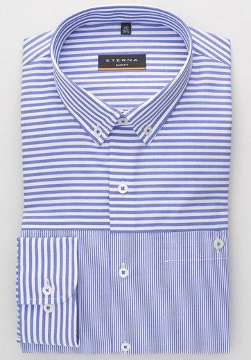 Eterna Long Sleeve Shirt Long Sleeve Shirt Slim Fit