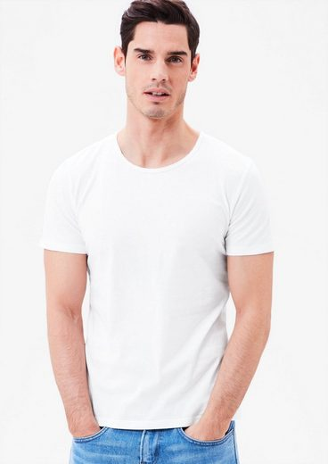 s.Oliver RED LABEL Schmales T-Shirt aus Jersey