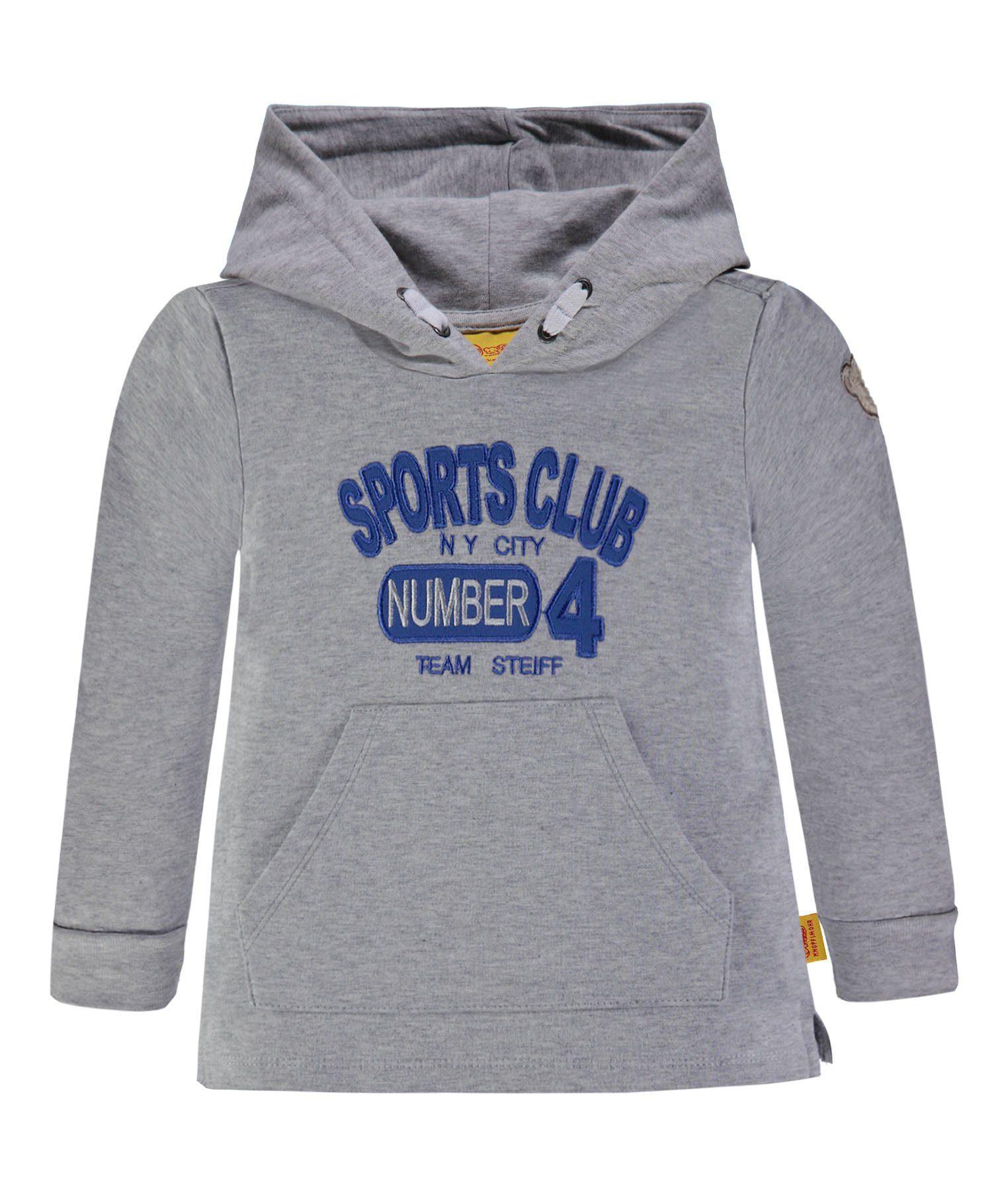 Steiff Sweatshirt große Kapuze
