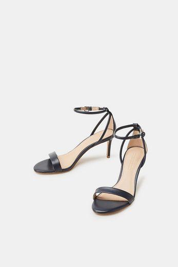 ESPRIT Elegante Sandalette aus Leder