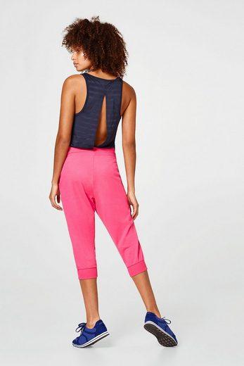 ESPRIT Super-softe Capri-Pants mit lockerem Schnitt