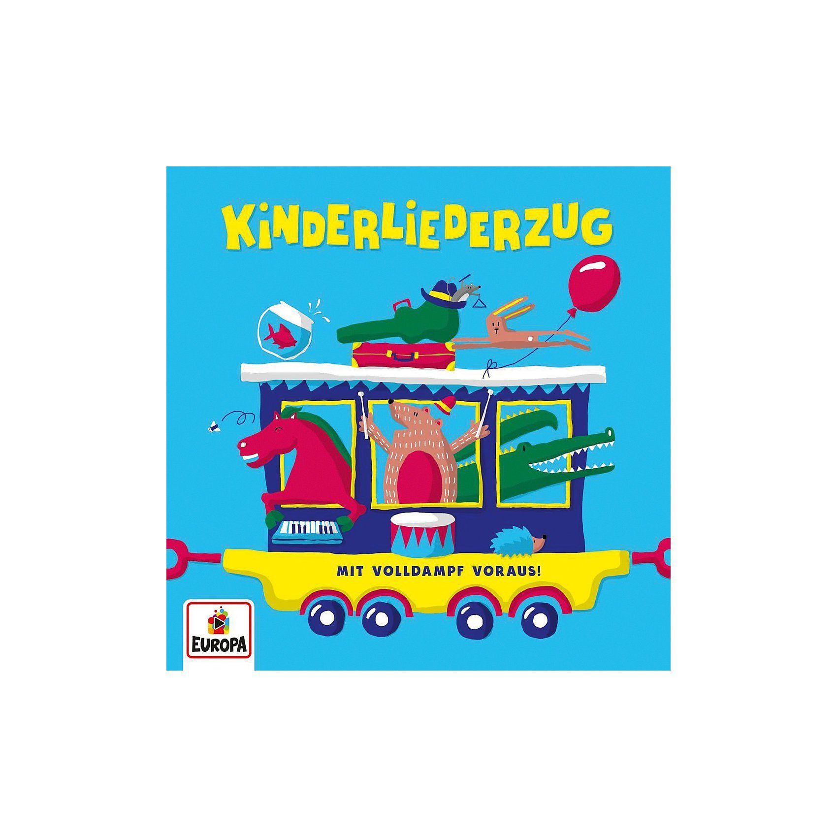 Sony CD Kinderliederzug - Mit Volldampf Voraus!