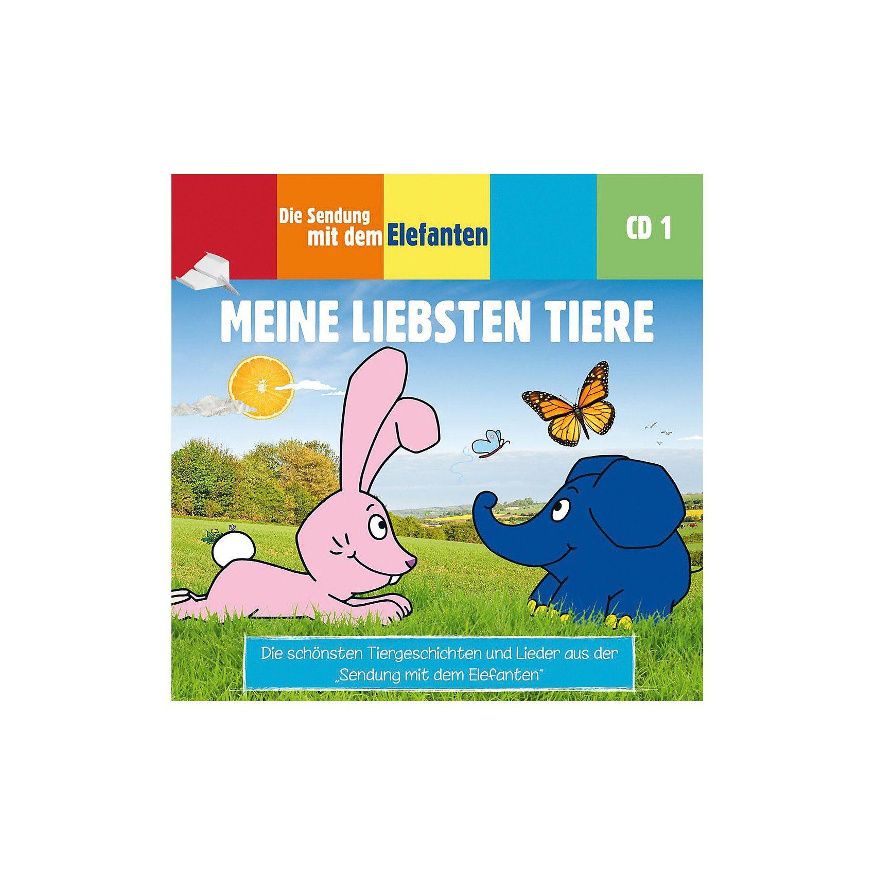 Universum CD Die Sendung mit dem Elefanten 01 - Meine liebsten Tiere