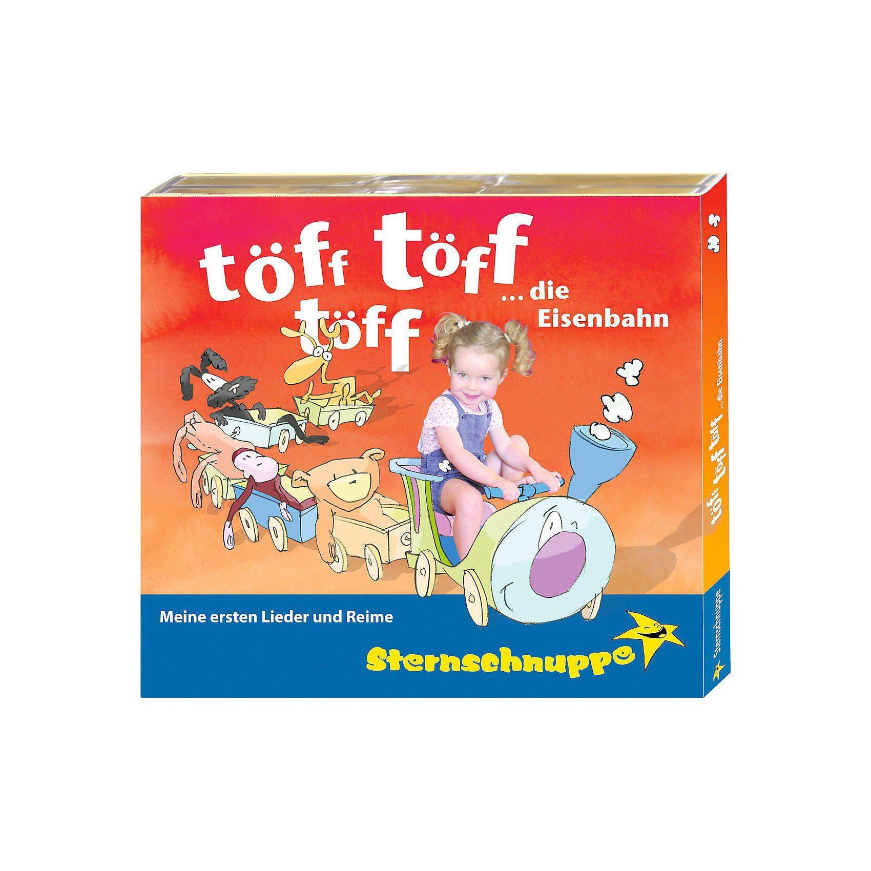 CD Sternschnuppe - Töff, töff, töff, die Eisenbahn