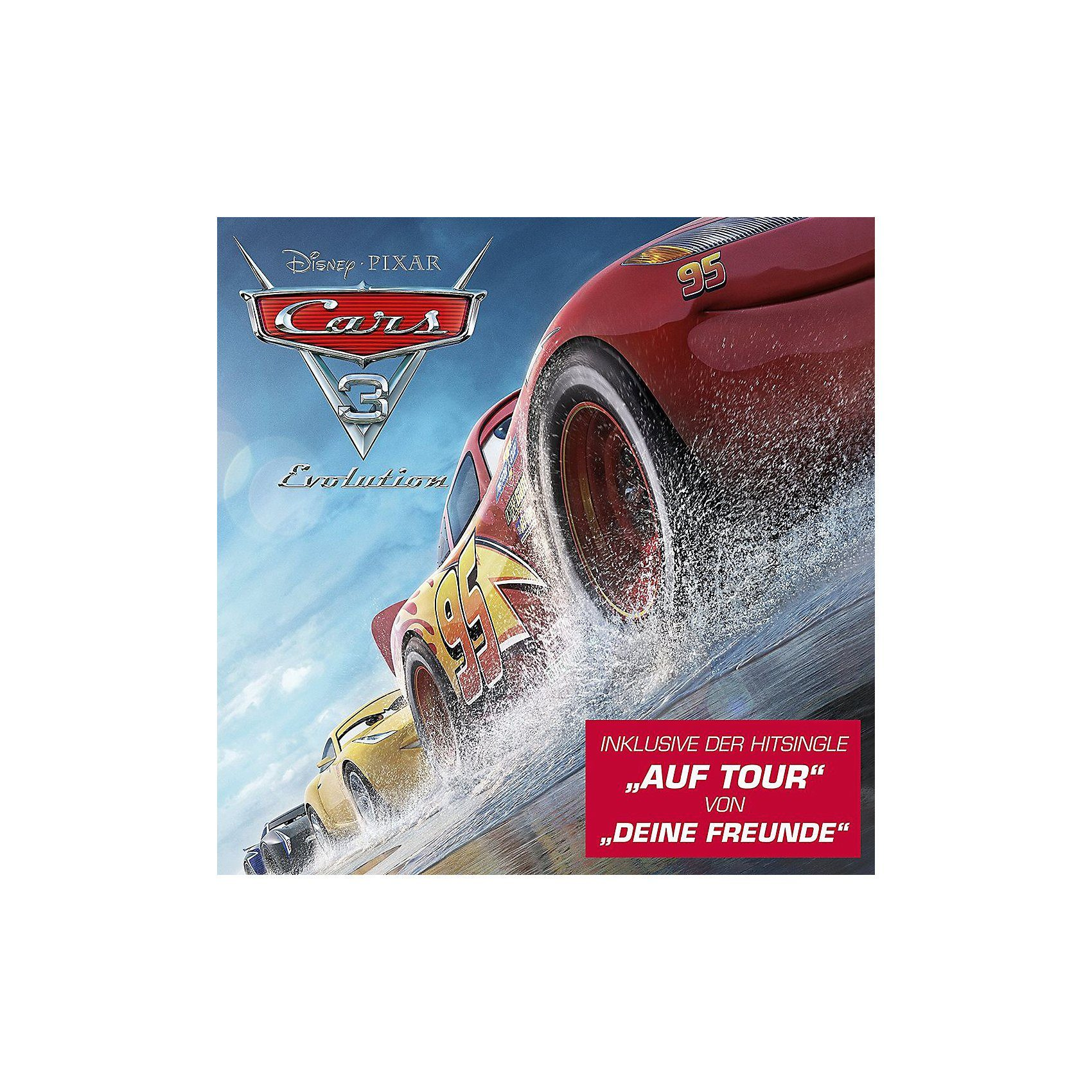 Universal CD Cars 3: Evolution (Original Soundtrack Songs) OST
