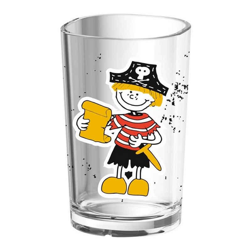 Emsa Kinderbecher »Kinderglas Pirat«, Glas