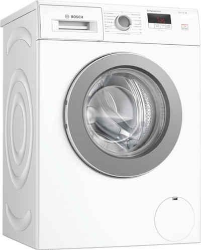 BOSCH Einbauwaschmaschine WAJ280H1, 7 kg, 1400 U/min, extrem energiesparend und leise, SpeedPerfect, LED Display mit einfacher Touch-Control Bedienung, extrem standfest