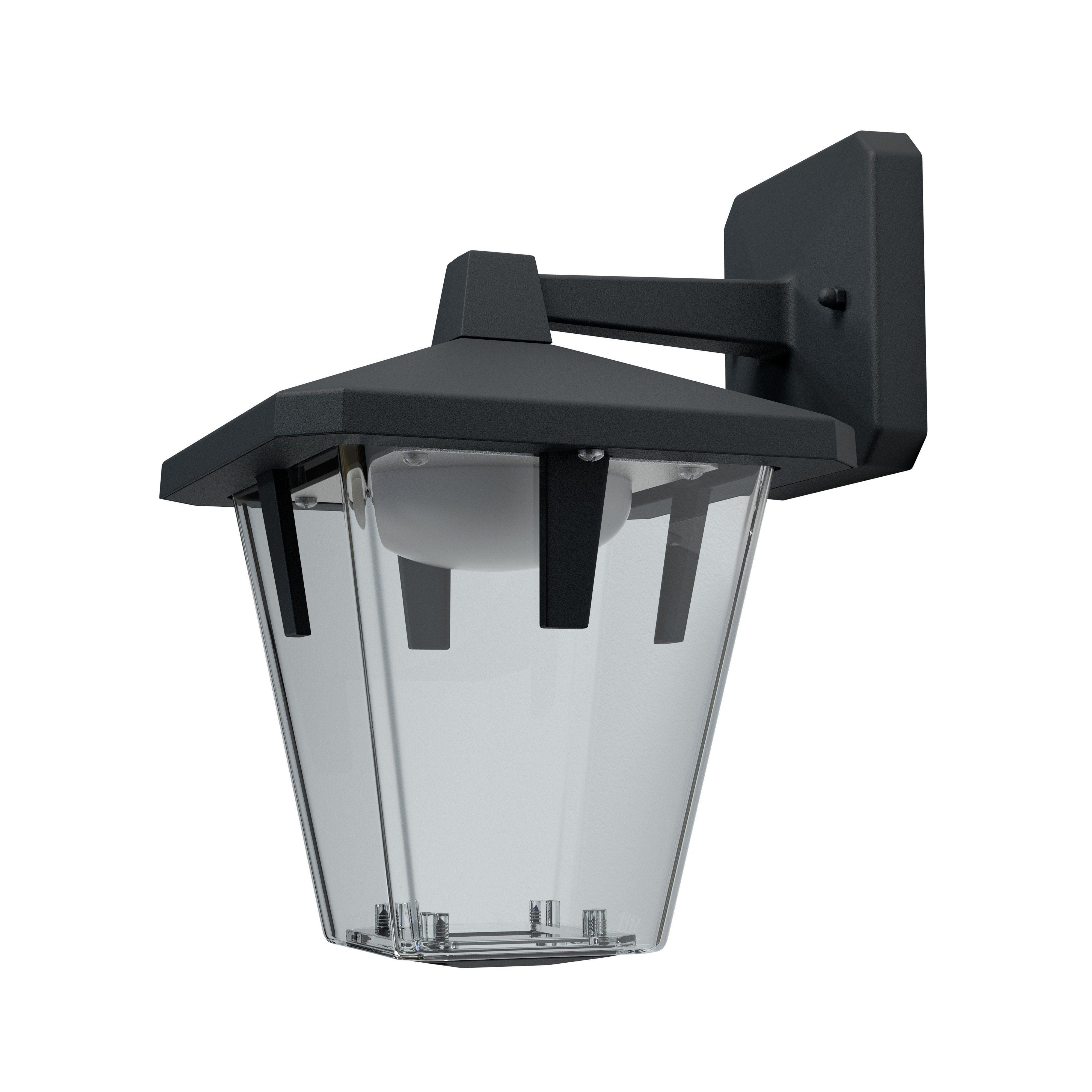 LED-Wandleuchte, Laterne, Außenbereich »ENDURA STYLE Lantern Classic Down 10 W BK«