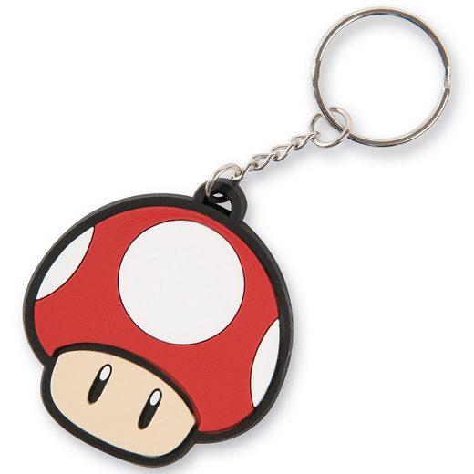 Nintendo Schlüsselanhänger Super Mushroom (Super Mario)