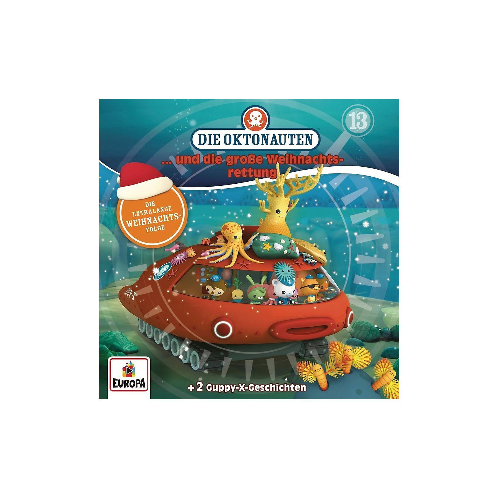 Sony CD Die Oktonauten 13 - und die große Weihnachtsrettung