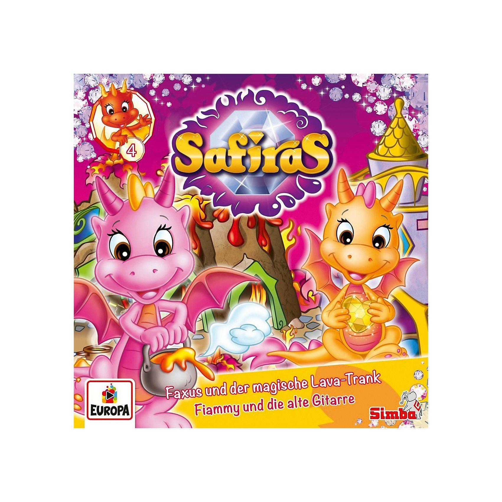 CD Safiras 4 - Faxus und der Magische Lava-Trank/Fiammy und